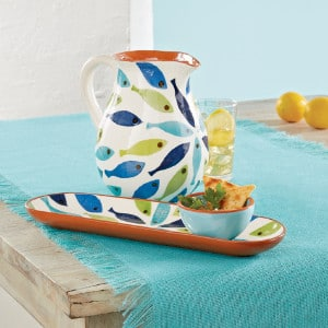 Mud pie Home Decor - Seaside Cotton